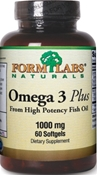 Omega 3 PLUS softgels
